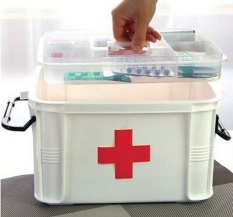 33*24*19cm Medicine Storage Box Multilayer/medicine Cabinet - intl