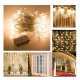 New 3 3M 300 Leds String Window Curtain Icicle Lights Holiday Xmas Wedding Garden Ye Intl