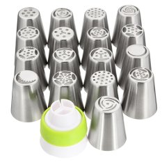 Buy 34Pcs Russian Tulip Flower Icing Piping Nozzles Cake Decoration Tips Baking Tools Intl Cheap On China