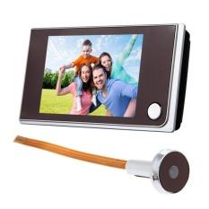 Best Price 3 5 Inch Lcd 120 Degree Peephole Viewer Door Eye Doorbell Color Ir Camera Intl