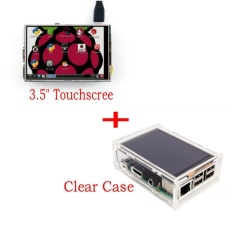 3 5 Lcd Tft Touch Screen Display With Stylus For Raspberry Pi 2 Pi 3 Acrylic Transparent Case Intl Shop