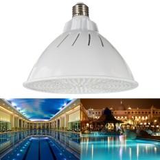 35W PAR56 RGB LED Light Bulb Remote Control Swimming Pool Spa Underwater E26 12V - intl