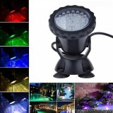 Price Compare 36 Led Rgb Underwater Spot Light For Water Garden Pond Aquarium Fish Tank Lamp