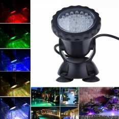 Compare Price 36 Led Rgb Underwater Spot Light For Water Garden Pond Aquarium Fish Tank Lamp On China