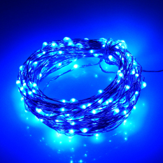 Best Buy 39Ft 12M 240Ed Waterproof Battery Operated Led String Lights 5Modes Copper Wire Fairy Lights For Chrismas Decoration Night Lamp Blue