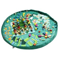 39inch/100cm Toys Storage Bag Organizer (Green) - Intl