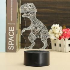 3D Dinosaur USB 7 Color Change LED Night Light Desk Table Lamp Christmas Gifts - intl