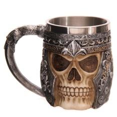 Buy 3D Metal Skull Designed Bottle Cups Kitchenware Barware Mug Drinkiware Tool Intl