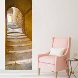 Top Rated 3D Stickers Diy Home Decorate Basement Fashion Door Canvas Chest Bridge Intl