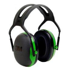 3m Peltor X Series Ear Muffs, 22db, Green, Headband, X1a By Masstec.