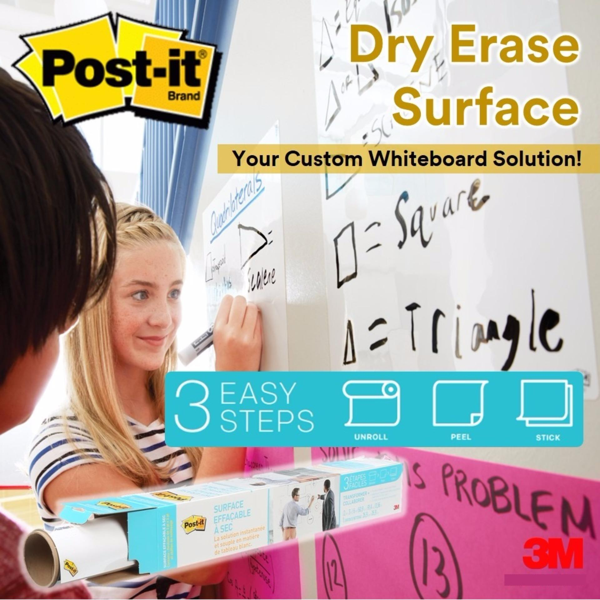 3m Post-It Dry Erase Surface By 3m Official Store.