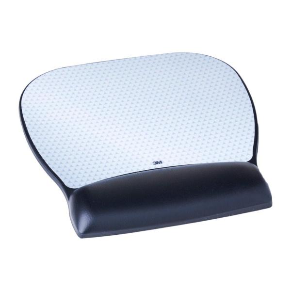 3M Gel Mousepad Wrist Rest With Antimicrobial Protection - 3M-MW310LE (Ergonomics)