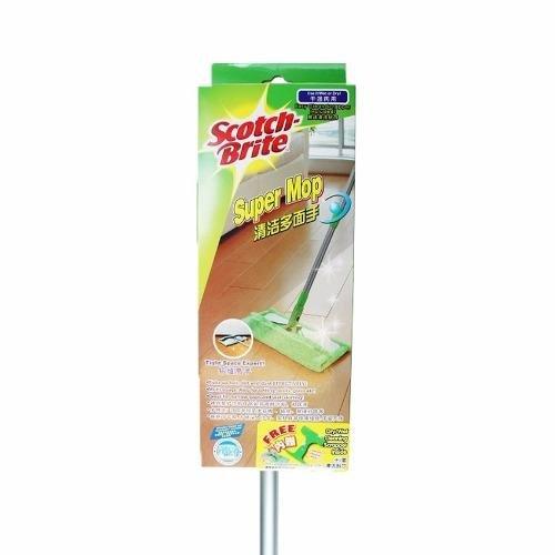 Shop For 3M Scotch Brite Super Mop With Scrapper
