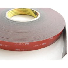 3M™ VHB™ Tape 4611 Gray, 1/2 in x 36 yd, Double Sided Tape
