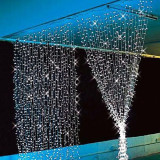 Wholesale 3Mx3M 300Led Outdoor Christmas Xmas String Fairy Wedding Curtain Light 220V 110V Warm White