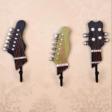 How Do I Get 3Pcs Set Resin Small Guitar Designs Clothes Keys Wall Hook Clothing Hanging Hooks Holder Vintage Home Bar Club Wall Decorations 7X4 5X18Cm Intl