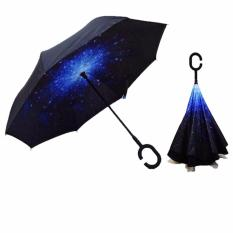 3Rd Gen Double Layer Reverse Umbrella C Handle Flower Umbrella 2016 Model Open Close In The Narrow Space Without Getting Rain Wet Creative Windproof Car Owner Must Have Discount Code