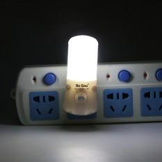 3W 220 V LED Night Light Wall Night Lamp US Plug Indoor Lighting Energy Saving - intl Singapore
