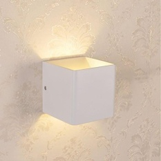 3W Modern Up & Down Indoor Cool /Warm White Sconce LED Wall Light - intl