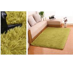 Price 4 Cm Silk Hair Living Room Coffee Table Bedroom Carpet Deep Green Oem China