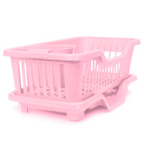 Price 4 Color Kitchen Dish Sink Drainer Drying Rack Wash Holder Basket Organizer Tray Pink Intl On China