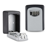 Purchase 4 Digit Combination Wall Mount Holder Key Storage Lock Box For Safe Outdoor Security Intl