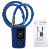 For Sale 4 Digital Password Chain Smart Lock Anti Theft Alarm Keyless Intl