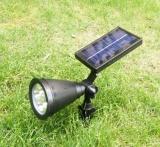 4 Led Solar Lights Spotlight Outdoor Landscape Lighting Intl For Sale