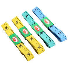 4 Pieces Body Measuring Ruler Sewing Tailor Tape Measure Soft Flat 60inch 1.5m By Welcomehome.