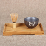 Best 4 Style Matcha Set Bamboo Matcha Whisk Chashaku Tea Scoop Matcha Ceramic Bowl Cherry Blossoms