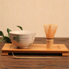 Sale 4 Style Matcha Set Bamboo Matcha Whisk Chashaku Tea Scoop Matcha Ceramic Bowl Lotus