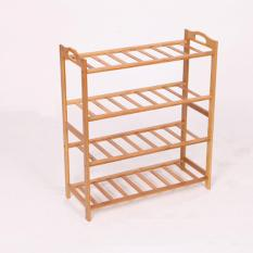 Best Rated 4 Tier Bamboo Shoe Rack Storage Shoes Rack Storage