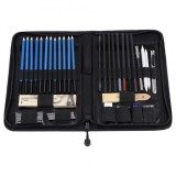 How To Get 40Pcs Professional Sketching Drawing Pencils Kit Set Art Supplies Students Painting Tool Intl