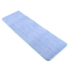 Buy 40X120Cm Memory Foam Washable Bedroom Floor Pad Non Slip Bath Rug Mat Door Carpet Blue Export
