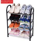 42X20X57Cm Portable Shoe Rack Stand Shelf Home Storage Organizer Closet Cabinet Black Intl On China