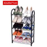 Price Comparisons 42X20X71Cm Portable Shoe Rack Stand Shelf Home Storage Organizer Closet Cabinet Black Intl