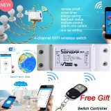 Sonoff 433Mhz Wifi Switch Wireless Remote Control Electrical For Household Appliances For Smart Home Wifi Lower Price
