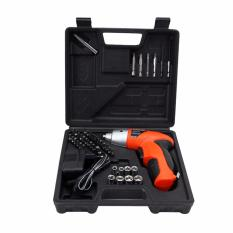 Buy 45 Pcs In 1 Power Tools 4 8V Cordless Drill Driver Electric Screwdriver Online