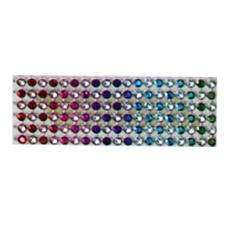 4.6 inches width 10 yards length Diamond Rhinestone Ribbon Wrap Bulk by LuckyG - intl