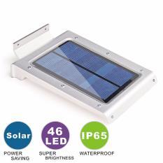 46 LEDs Solar Power Motion Sensor Waterproof Garden Security Lamp Light