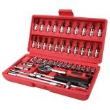 46 Pcs Spanner Socket Set Ratchet Wrench Set Car Repair Tool Buy 1 Get 1 Freebie Intl Price Comparison