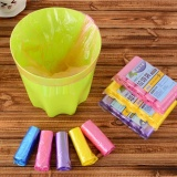 Discount 4Ever 150Pcs Lot Colored Trash Bags Garbage Storage Waste Basket Bin Trash Holder Kitchen Bucket Bag Intl Oem