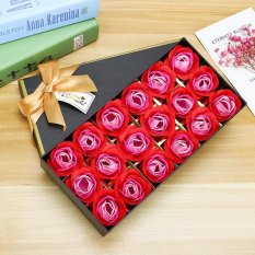 Sale 4Ever 18Pcs Bath Rose Soap Flower Petal With Gift Box And For Wedding Valentine S Day Mother S Day China Red Intl China
