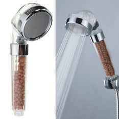 Compare 4Pcs Bathroom Booster Spa Anion Water Saving Handheld Rain Shower Spray Head Nozzle