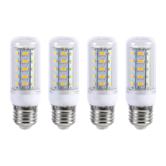 4Pcs E27 LED Bright Home Ceiling Pendant Lamp Corn Light Bulb 220V Warm White 6W - intl