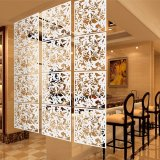 4Pcs Hanging Screen Partition Room Divider Butterfly Flower Wall Sticker White Shopping