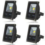 Where Can You Buy 4Pcs Ip65 10W Led Flood Light Wall Yard Garden Lamp Outdoor Spotlight Warm White Intl