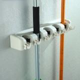 4Pcs Wall Mounted Mop Brush Broom Organizer Holder Storage 5 Rack Intl China