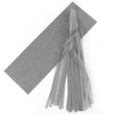 5 Pcs Tissue Garlands Bunting Ballroom Paper Tassels Decor (champagne) By Qiaosha.