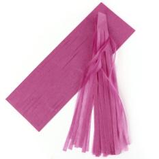Buy Cheap 5 Pcs Tissue Garlands Bunting Ballroom Paper Tassels Decor Dark Rose Red